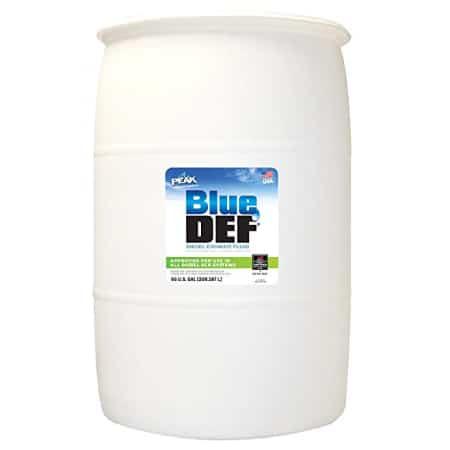 Blue Def 55 Gallon drum